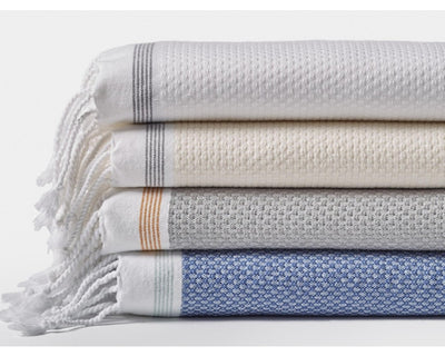 Mediterranean Organic Towels - Wash, Guest, Bath and Beach Towel
