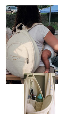 Hemp Baby Supplies Backpack