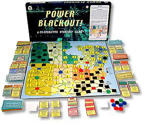 Power Blackout Board Game