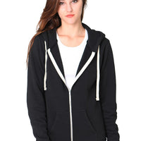 Organic Cotton RPET Unisex Hooded Fleece Jacket
