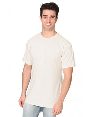 Organic Cotton Unisex Fine Jersey T-Shirts : L or XL