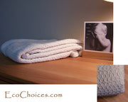 Organic Cotton Crepe Weaved Crib Blankets