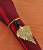Real Leaf Birch Napkin Ring/Wine Charm