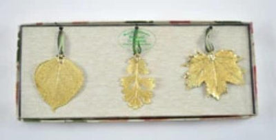 Real Leaf Ornaments