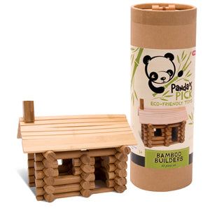 Eco Friendly Bamboo Builders Set  - ages 4+