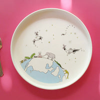 Earth Friendly - Non Toxic - Safe Children's Plates & Bowls