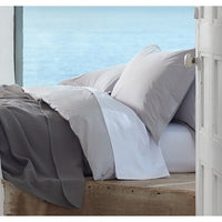 300 Thread Count Organic Percale Duvet Cover  - Twin, Full/Queen, King and Shams