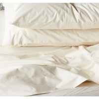 300 Thread Count Organic Percale Sheets - Twin, Queen, Cal King, Eastern King, and Pillowcases Sets
