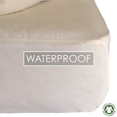 Organic Cotton Waterproof/Dust Mite Mattress Protectors And Pillow Protectors