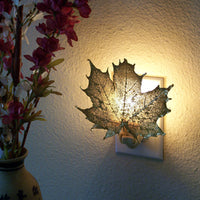 Gold & Copper Real Leaf Nightlights