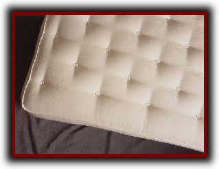 Vegan Organic Cotton or Green Cotton Innerspring Mattress