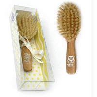 TEK WIDU Handmade Wooden Baby & Childrens Brush