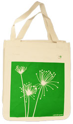 Papyrus organic cotton art bag