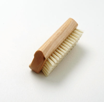 TEK WIDU Handmade Wooden Nail Brush with Nylon Bristles