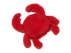 Eco Crab Plush Dog Toys