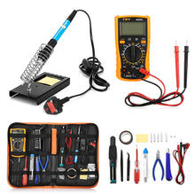 Load image into Gallery viewer, 23 in 1 Soldering Iron Multi-use Hand Tools Set for Various Electronic Devices Kit Electronica LCD Screen Digital Multimeter
