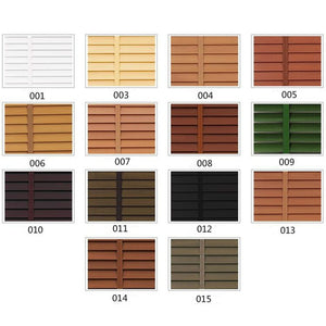 Basswood Venetian 14 Colors Blinds, Blinds Color Swatch Sample