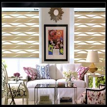 Load image into Gallery viewer, FREE SHIPPING Popular zebra blinds double-layer roller Zebra blinds and zebra blinds  fabric curtain window blinds