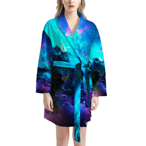 Dream Waves - Women's Bathrobe