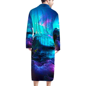 Dream Waves - Men's Bathrobe
