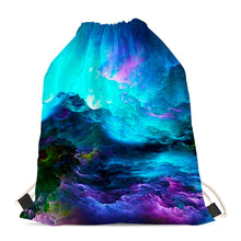 Load image into Gallery viewer, Dream Waves - Drawstring Bags