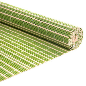 HAUSBAY Bamboo Roller Blinds Window Blinds Roller Curtains Shades for Windows Daylight Roman Rolling up Nature bamboo JR010