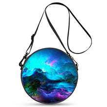 Load image into Gallery viewer, Dream Waves - Round Satchel Bags