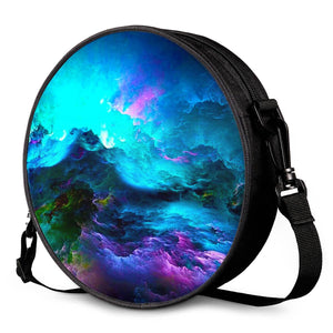 Dream Waves - Round Satchel Bags