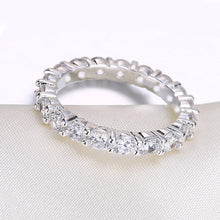Load image into Gallery viewer, Muli Swarovski Sleek Mini Stone Band Ring
