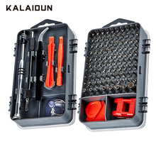 Load image into Gallery viewer, KALAIDUN 112  in 1 Screwdriver Set Magnetic Screwdriver Bit Torx Multi Mobile Phone Repair Tools Kit Electronic Device Hand Tool
