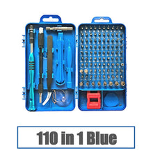 Load image into Gallery viewer, QUK Screwdriver Set 115 In 1 Precision Screw Driver Bit Torx Ratchet Magnetic Insulated Bits Multitools Phone Repair Hand Tools