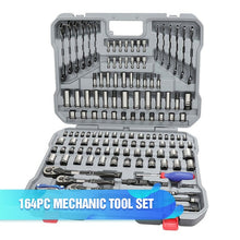 Load image into Gallery viewer, WORKPRO 123PC Car Repair Tool Set Mechanic Tool Kits Screwdrivers Ratchet Spanner Wrenches Sockets