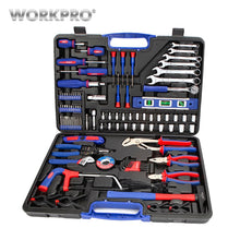 Load image into Gallery viewer, WORKPRO 139PC Home Repair Tool Set Household Tool Kits Screwdriver Set