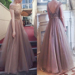 Women long dress Backless Sleeveless Chiffon A line style big swing elegant vintage lad Fluffy Wedding Bridesmaid party Dress