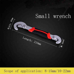 Wrench Set Universal keys 2pcs Multi-Function Adjustable Portable Torque Ratchet Oil Filter Spanner Hand Tools