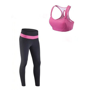 newest outfit set women yoga sets suit girls outfit set for gym fitness exercise sets suit size s-xl