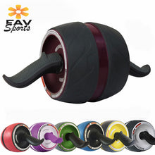 Load image into Gallery viewer, Fitness Wheel Tonificador Abdominal Abs Machine Muscle Trainer Arm Exercises Roller Power Strength Fitness Roller Workout Tools