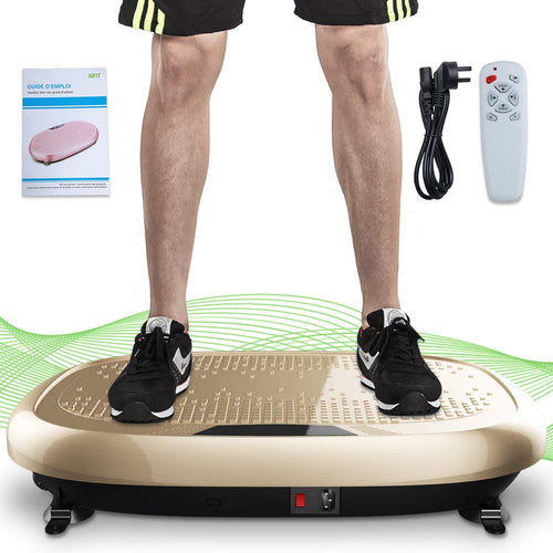 JUFIT Fitness Machine Whole Full Body Shape Exercise Machine Vibration Plate Fit Massage Workout Trainer Vibration Platform