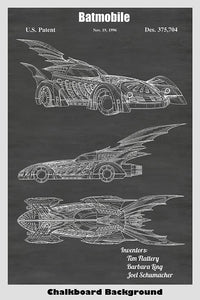 Batmobile Patent Art