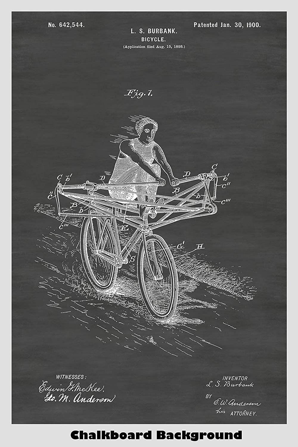 Victorian Era Rowing Machine Bicycle