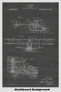 Flying Car Poster Patent Print Art Poster