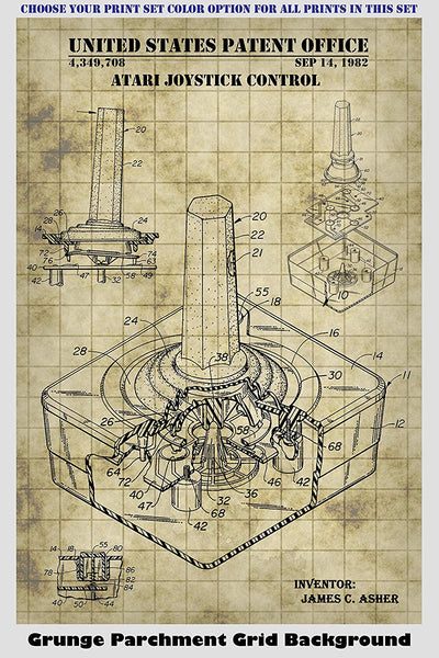 Atari Video Game Patent Print Art Posters Wall Decor Collection