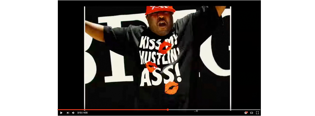 kiss my hustlin ass splash
