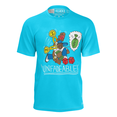 Unfadeable, T-Shirt, Sky Blue REMIX