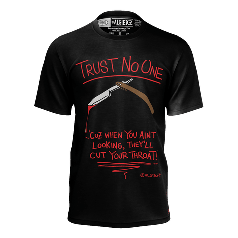 Trust No One, T-Shirt, Black