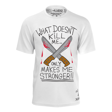 What Doesn't Kill Me, T-Shirt, White