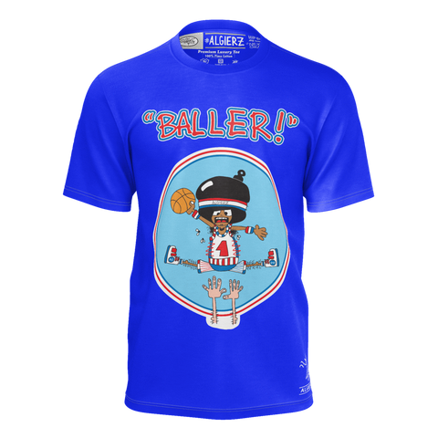 Copy of Baller, T-Shirt, Royal Blue remix