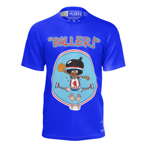 Baller, T-Shirt, Royal Blue