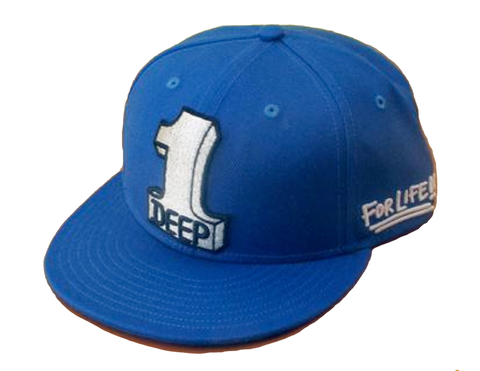 1 Deep (blue) Hat