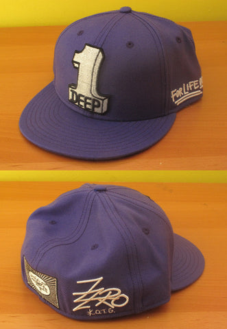 1 Deep (purple) Hat